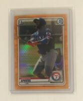 Sherten Apostel Orange Refractor #24/25 2020 Bowman Chrome Prospects BCP-46