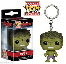 Portachiavi Hulk Avengers Pocket Pop! bobble-head Vinyl KeyChain Funko
