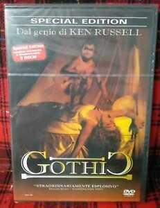 Gothic 2 DVD Nuovo Sigillato Special Edition Ken Russel Doppio Disco