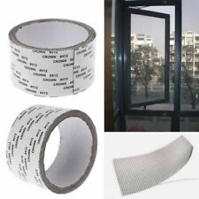 Insects Screen Patch Repair Kit Mosquito Door Window Net Sticky Roll Tape 2M