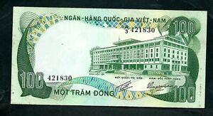 South Vietnam (P31) 100 Dong 1972 aUNC