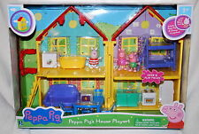 Peppa Pig Deluxe House Playset Dollhouse NEW