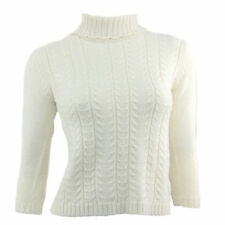 Wool Blend Unbranded Medium Knit Solid Jumpers & Cardigans for Women