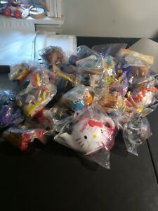 New Sealed Happy Meal Toys Lot Of 31 McDonald's Burger King Wendy Kids Meal Toys