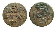 pcc1329_29) NETHERLANDS EAST INDIES BATAVIA 1/2 STUIVER 1826
