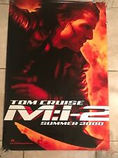 MISSION IMPOSSIBLE 2 (MI:2) 27x40 D/S Original Authentic Movie Poster One Sheet