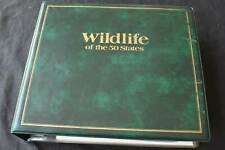 USA 'Wildlife of the 50 States' 1970/80s FDCs in Album, 99p Start, All Pictured