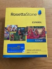 Rosetta Stone Spanish (Latin America) Level 1-5 Set Total e
