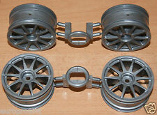 Tamiya 58410 Volkswagen Golf GTI Cup/TT01E, 9335509/19335509 Ruedas (4), NUEVO
