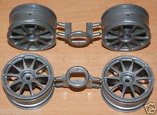 Tamiya 58410 Volkswagen Golf GTI Cup/TT01E, 9335509/19335509 Wheels (4), NEW