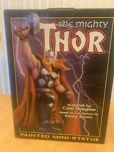 Marvel Bowen Designs Thor Mini Statue w/ Box, Never Displayed 3897/5500