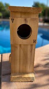 Owl nesting box handmade