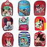 Boy Girl Disney Minnie Mickey Mouse School Bag Rucksack Backpack Brand New Gift