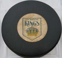 1977-83 LOS ANGELES KINGS LA NHL VICEROY  OFFICIAL GAME USED PUCK CANADA VINTAGE