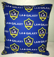 Galaxy Pillow La Galaxy Pillow LA Galaxy MLS Handmade in USA Pillow Soccer Team