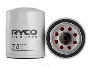 Ryco Oil Filter Z411 fits Mitsubishi Magna 2.4 (TE), 2.4 (TF), 2.6 i (TM,TN) ...