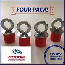 4 Pack Polaris Lock & Ride Lock and Ride Atv Tie Down Anchor Rzr, Sportsman Ace