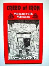 CREED OF IRON: Wotansvolk Wisdom, celtic, nordic, aryan, heathen, viking, THOR