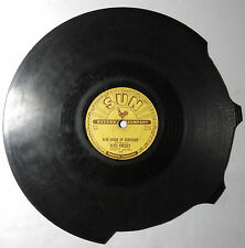 ELVIS PRESLEY That's All Right / Blue Moon of Kentucky SUN 209 78 rpm Broken