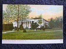 Early 1900's The Norfolk Naval Hospital in Norfolk, Va Virginia Pc
