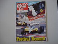 AUTOSPRINT 30/1982 GP F1 FRANCIA/VOLVO 760/JEAN-MARIE BALESTRE/F. FIAT ABARTH