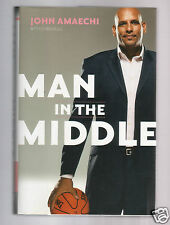 MAN IN THE MIDDLE-GAY NBA STAR  JOHN AMAECHI SIGNED HB VERY GOOD CONDITION