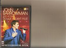 JOHN BARROWMAN LIVE AT ROYAL ALBERT HALL DVD MUSIC OCTOBER 4TH 2010