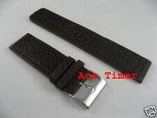 26mm Brown MegaStrap Vintage Pilot Watch Strap Band