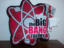 "The Big Bang Theory Plush Cartoon Soft Pillow Cushion 16"" X 12"" NEW TAG"