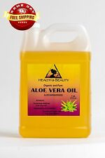 ALOE VERA OIL ORGANIC by H&B Oils Center COLD PRESSED PREMIUM 100% PURE 7 LB