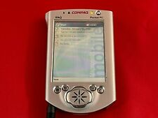 Compaq iPaq 3765 Color Pocket Pc (257326-001) No Ac Adapter Powers On R7/10A