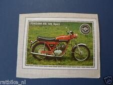 SMP128- ZUNDAPP KS125 SPORT & YAMAHA LOGO MOTO  PICTURE STAMP ALBUM CARD,ALBUM