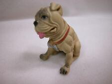 Dollhouse Miniature Animal House Pet Dog Puppy Bulldog #Z406