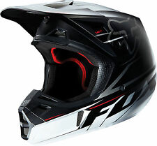 Fox Racing V2 Motocross Dirt Off-Road Helmet Matte Black Adult Small