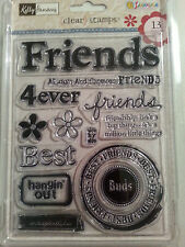 Kelly Panacci Clear Stamp - FRIENDS