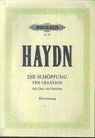 """HAYDN - """" Die Schöpfung """"  Klavierauszug"""