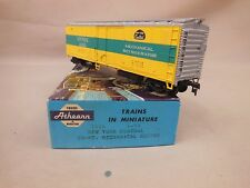 HO SCALE ATHEARN NEW YORK CENTRAL MECHANICAL REEFER BLUE BOX KIT BUILT