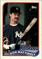 1989 Topps baseball Don Mattingly #700 lot of 50 Mint cards