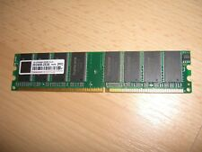 Transcend 1.0GB DDR1 400 PC3200 Desktop Memory