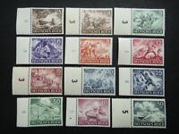Germany Nazi 1943 Stamps MNH Army Day and Hero Memorial Day WWII Third Reich Ger