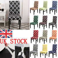 Elastic Chair Covers Slipcovers Dinning Room Seat Protector Home Banquet Decor