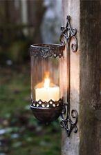 Wandleuchter Barock Wandkerzenhalter Windlicht Metall Wand Kerzenhalter Leuchter