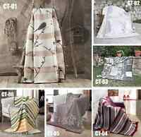 """Large Luxury Soft and Warm Sofa / Bed Throw Blankets 180 x 220CM (71"""" x 86"""")"""