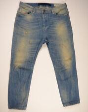 DIESEL Destroy Jeans 'EAZEE 0822C RELAXED-BOYFRIEND' W28 L30 EUC RRP $389 Womens
