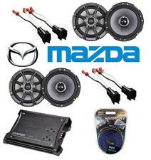 "Mazda 6 03-06 Kicker (2) Ks65 6.5"" Coaxial Upgrade Speakers Zx350.4 Amplifier"