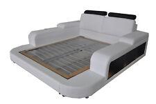 Luxus Leder Design Polster Betten Doppel Modernes 140/160/180/200 Bett LB8810