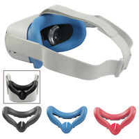 Glasses Mask Cover Helmet Eye Mask Cover für Oculus Quest 2 VR Headset Silikon