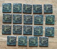 Dungeons And Dragons Board Game Spare Parts Chests X19 Pieces Replacement 2003