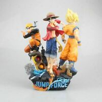 Son Goku & Monkey·D·Luffy & Uzumaki Naruto Action figure PVC Toy New In Box