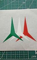 Frecce tricolori adesivo pvc spaziato composto aeronautica militare italiana 2pz